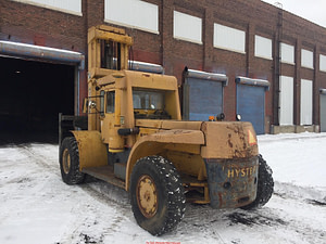 40,000lb. Capacity Hyster Air-Tire Forklift For Sale