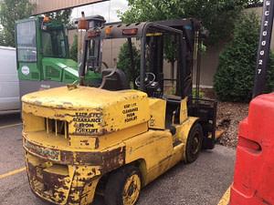 20,000 lb. Capacity Elwell Parker Forklift For Sale 10 Ton