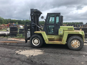 25,000 lb. Capacity Clark Forklift For Sale 12.5 Ton