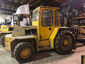 8,000 lb. Sellick Forklift For Sale 4 Ton