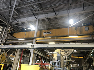 40 Ton Capacity Demag Overhead Bridge Crane For Sale