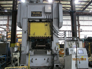 400 Ton Capacity Blow Straight Side Press For Sale (Two Available)