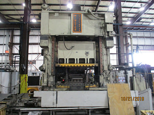400 Ton Capacity Minster Straight Side Press For Sale