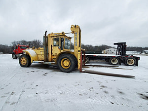 46,000 lb Capacity Hyster Forklift - Model H460B - For Sale 23 Ton