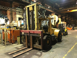 25,000 lb Hyster Forklift - Model H250 - For Sale
