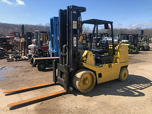 15,500 lb Hyster Forklift - Model S155XL - For Sale