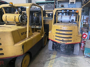 15,000 lb Hyster Forklift - Model S150 - For Sale (Two Available)