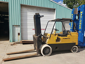 20,000 lbs / 25,000 lbs Cat Cushion Tire Forklift For Sale