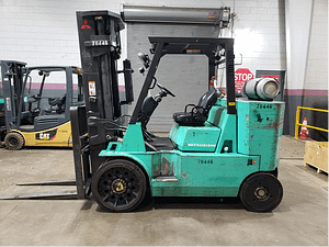 15,500 lbs Mitsubishi Forklift Boxcar Special For Sale