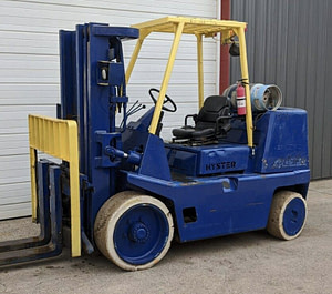 15,500 lbs Hyster Forklift - Model S155 - For Sale