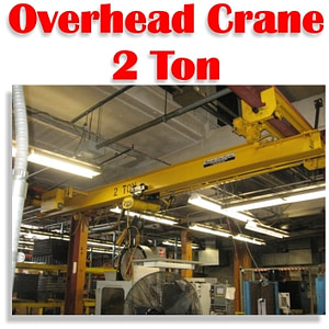 2 Ton Beacon Overhead Bridge Crane For Metal