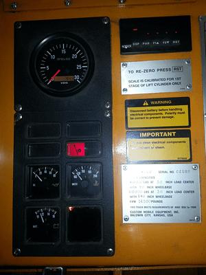 Versa Lift 4060 forklift for sale 8