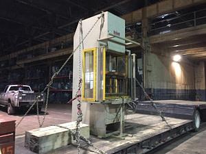 25 Ton Used Dake C Frame Hydraulic Press For Sale