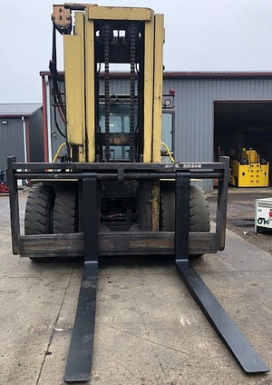 40000lb Hyster H400 Forklift For Sale 20 Ton