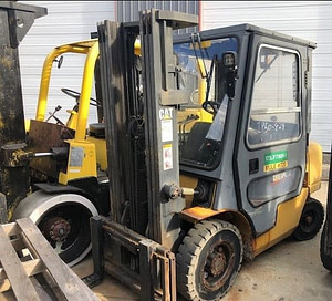 5000lb CAT Forklift For Sale 2.5 Ton