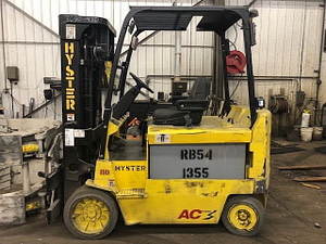 8000lb Hyster EZ80Z Electric Forklift For Sale 4 Ton