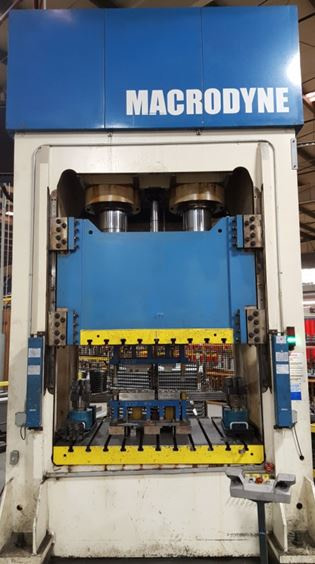400 Ton Hydraulic Macrodyne Stamping Press For Sale