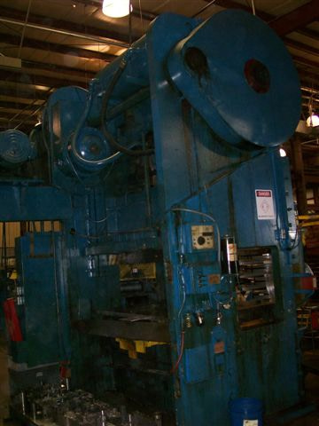 250 Ton D&K Press For Sale