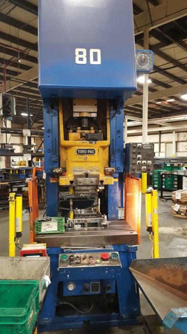 80 Ton Amada Press For Sale