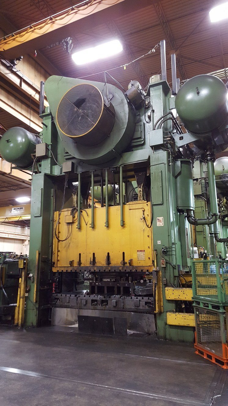 800 Ton Capacity Verson Straight Side Presses For Sale